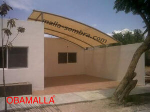malla sombra color beige